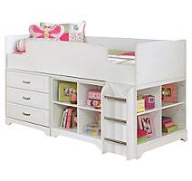 white view ashley leo twin bedroom set