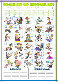 worksheet action words for kindergarten mikyu worksheet action verbs 1 regular irregular simple past and present perfect action verb