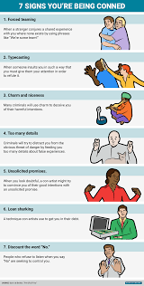 signs you re being conned business insider bi graphics 7 signs youre being conned