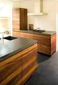 black kitchen bench