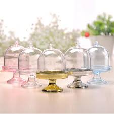 5 <b>colors</b> Upick <b>100pcs</b>/<b>lot</b> Transparent <b>mini Plastic</b> Candy Boxes ...