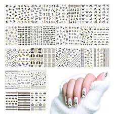 Lady Up Nail Art Stickers Decals Flowers Roses ... - Amazon.com