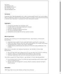 professional direct sales representative templates to showcase    resume templates  direct sales representative
