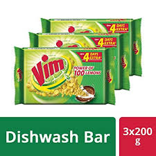 Vim <b>Bar</b> - 200 g Pack of 3 (SW): Amazon.in: Amazon Pantry