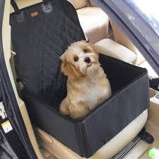 2 in 1 Pet Dog Car Waterproof Single Front Seat <b>Mat Booster Seat</b> ...