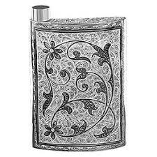 <b>Серебряные</b> фляжки — купить флягу из серебра для алкоголя ...