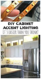 diy upper and lower cabinet lightinglook on top like upper cabinets cabinet lighting diy