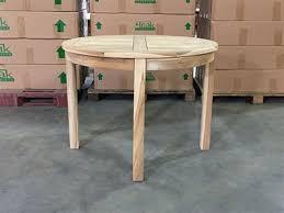 "Tomo Teak Round <b>Bistro</b> Table <b>100cm</b>/39"""