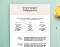 resume template and cover letter template by standoutlab on etsyresume template and cover letter template  professional design cv  download custom word doc  personalize simple  modern and creative resume