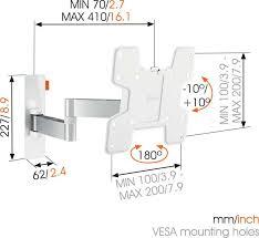 WALL 3145 Full-Motion <b>TV Wall</b> Mount (white)