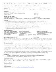 electric engineering resume s engineering lewesmr sample resume entry level sle resume mechanical engineering