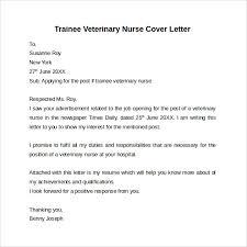 nursing cover letter template     free samples  examples  amp  formatstrainee veterinary nurse cover letter