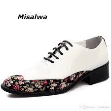 <b>Misalwa</b> Men'S Korean Lace Up Dress Shoes For Men Comfortable ...