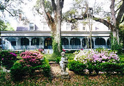 The Myrtles Plantation is said to be haunted by a variety of ghosts. Photo from National Park Service.