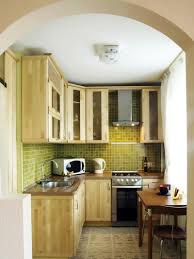Modular Kitchen In Small Space Pleasant Small Kitchen Space In Modern Apartment Design Complete
