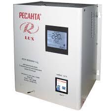 <b>Стабилизатор напряжения Ресанта АСН</b>-8000Н/1-Ц Lux - купить ...
