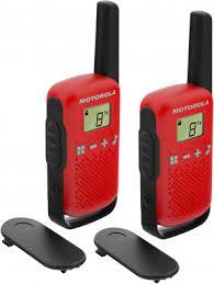 <b>Рация Motorola TALKABOUT</b> T42 черный/красный цвет — купить ...