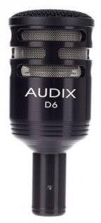 Универсальный <b>инструментальный микрофон AUDIX</b> D6 купить ...