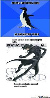 RMX] Socially Awkward Penguin by riccosuave - Meme Center via Relatably.com