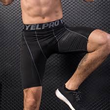 <b>Men Running Shorts</b> Tights Elastic <b>Solid</b> Running Sweatpants ...