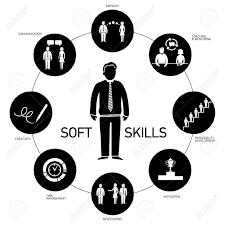 soft skills vector icons and pictograms set black and white soft skills vector icons and pictograms set black and white stock vector 24380288