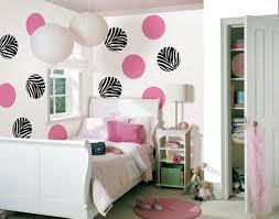 polka dots zebra girl bedroom decor black white zebra bedrooms
