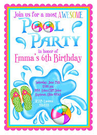 invitation for a pool party party invitatioin designs invitation for pool party templates