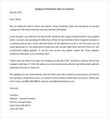 12+ Termination Letter Templates – Free Sample, Example Format ...