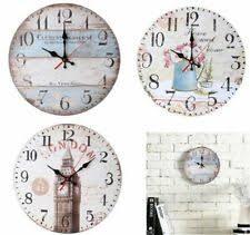 <b>Wood Retro</b> Style <b>Wall Clocks</b> for sale   eBay