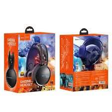 <b>Наушники hoco W100</b> Touring Gaming Headset - <b>Black</b>