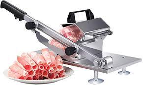 Manual Frozen Meat Slicer, befen Stainless Steel ... - Amazon.com