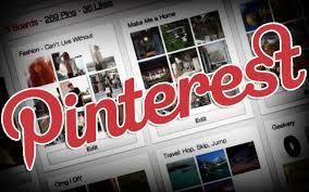 The interest in Pinterest…