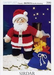 Sirdar 3080 Chunky Bonus Father Christmas <b>Toys Santa Toy</b> ...