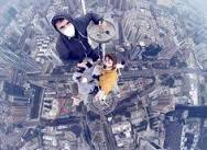 A teen daredevil has captured some stomach-churning footage on ...