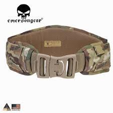 <b>EMERSONGEAR</b> Molle Belt Waist Padded Belt <b>Emerson Airsoft</b> ...