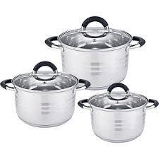 <b>Набор посуды 6</b> предметов BE-623/6 со стеклянными крышками