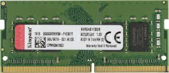 <b>Модуль памяти</b> KINGSTON VALUERAM KVR24S17S8/8 <b>DDR4</b> - 8ГБ