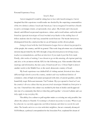 example of personal essays template example of personal essays
