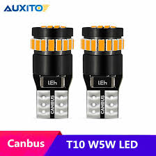 <b>2pcs T10 W5W LED</b> Canbus 168 194 Clearance Parking Lights For ...