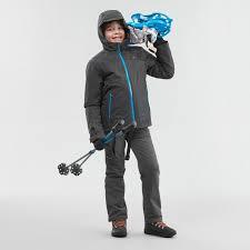 <b>брюки</b> для зимних походов для мальчиков 7–15 лет <b>sh500</b> x-warm ...