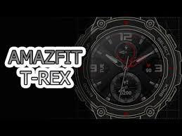 Amazfit T-Rex — самые защищенные <b>умные часы</b> MIL-STD 810G
