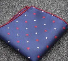 High quality <b>Mens Handkerchief Printed</b> Dot <b>Plaid Pocket Square</b> ...
