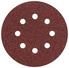 <b>Шлифовальный круг</b> на липучке <b>BOSCH</b> 2609256A24 <b>125 мм</b> 5 шт