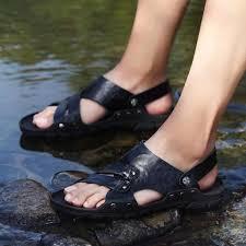 <b>Casual</b> Walking Sandal Men's <b>Shoes</b>-Sandal-<b>LAISUMK</b>-Black-6 ...