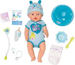 <b>Кукла</b>-мальчик <b>Zapf</b> Creation <b>Baby Born</b> интерактивная, 43 см ...