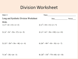 WELCOME!!! Warm Up Turn in your polynomial adding and subtracting ...Division Worksheet