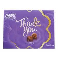 <b>Milka Thank</b> You шоколадные <b>конфеты</b> 120 гр.
