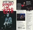 Between the Teeth album by David Byrne
