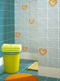 tile bathroom designs small white turquoise with orange and yellow modern bathroom decor turquoise