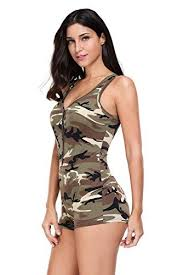 Rosy clouds 2017 <b>New Sexy</b> V-neck Sleeveless Camouflage ...